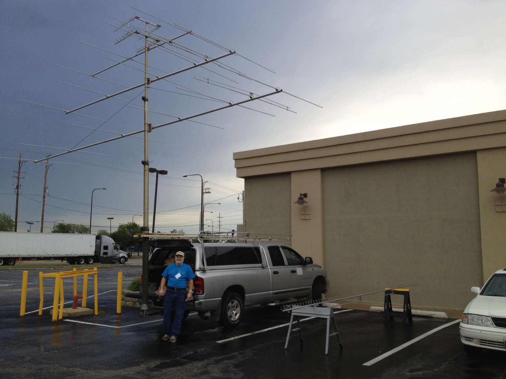 The DSEJX5-50, 6-50 and 7-50 debuted at the Central States VHF Conference in July, 2013